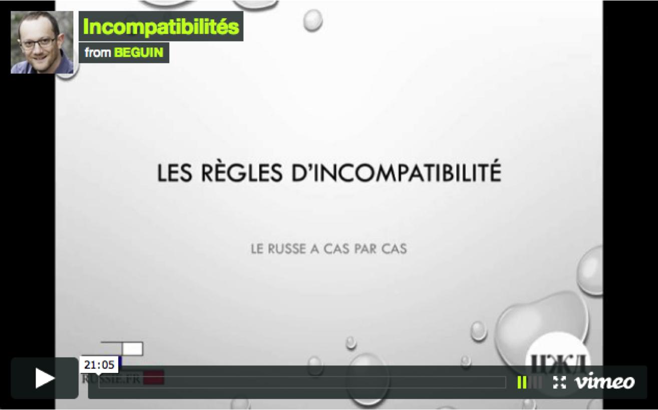 Incompatibilités : 3 règles à connaître